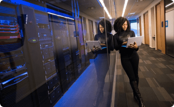 Dados seguros na transição para um novo escritório